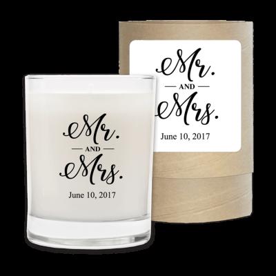 Mr & Mrs Wedding Date