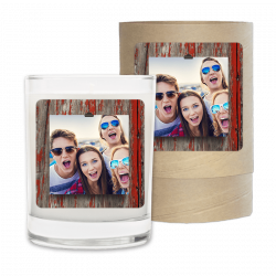 Red Wood Photo Frame