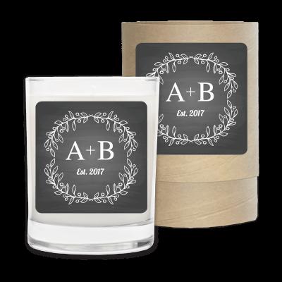 Wedding Bride Groom Initials
