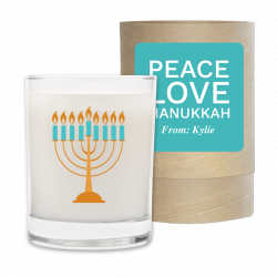 Seasonal, Holiday, Peace, Love, Hanukkah.
