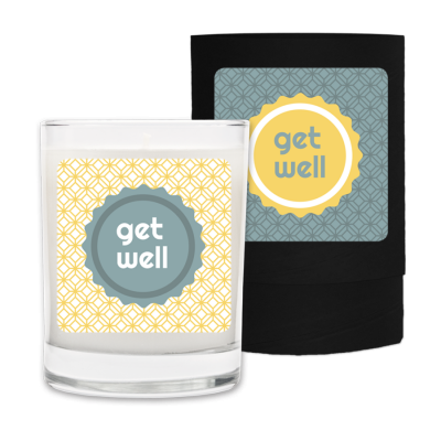 Get Well Candle & Box