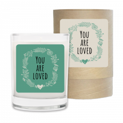 You are Loved Candle & Box