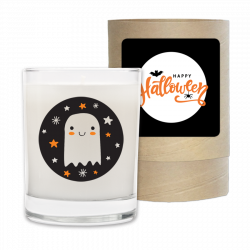 Happy Halloween - Halloween Candle and Box