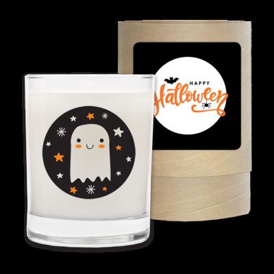 Happy Halloween - Halloween Candle and Box