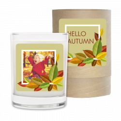 Holiday Candle - Hello Autumn