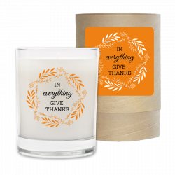 Holiday Candle - In Everything Give Thanks