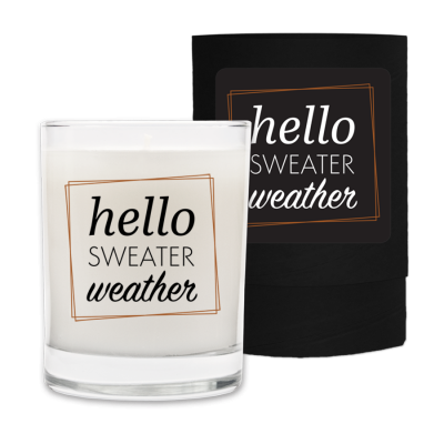 Holiday Candle - Hello Sweater Weather