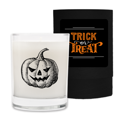 Halloween Candle and Box